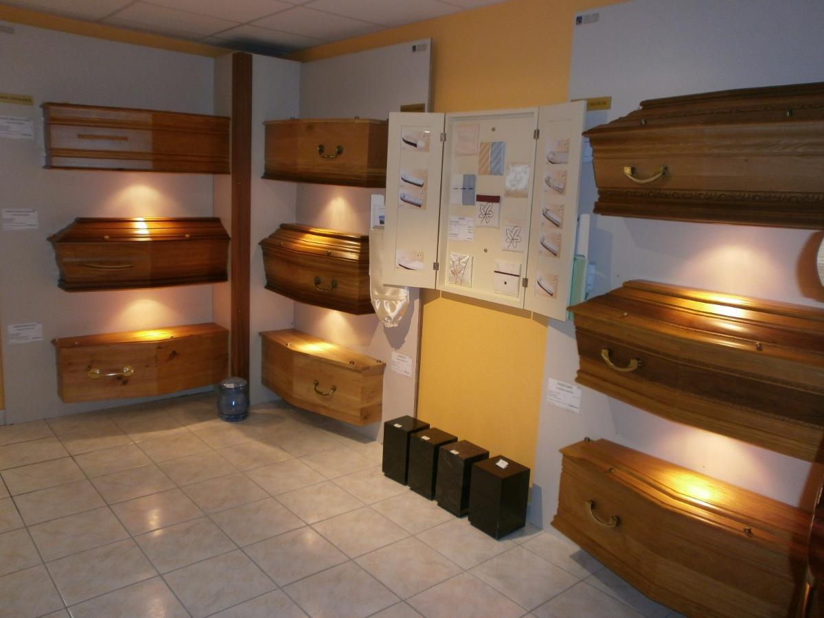 Exposition cercueils