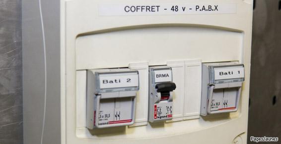 Coffret disjoncteur - Électricité générale