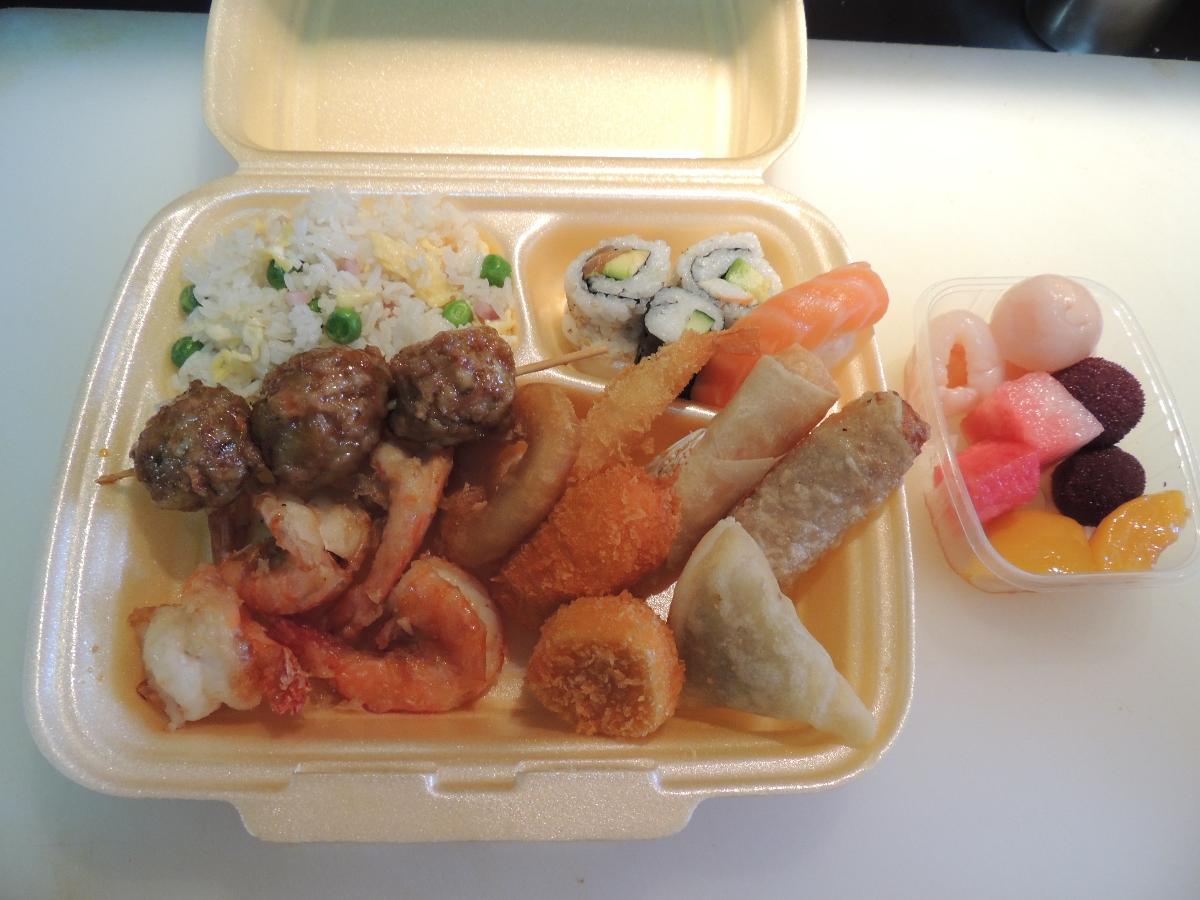 Buffet à volonté Restaurant D'Hokkaido à Olivet