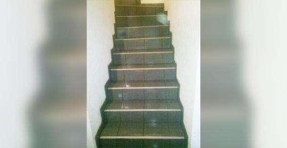 Escalier après - En rénovation