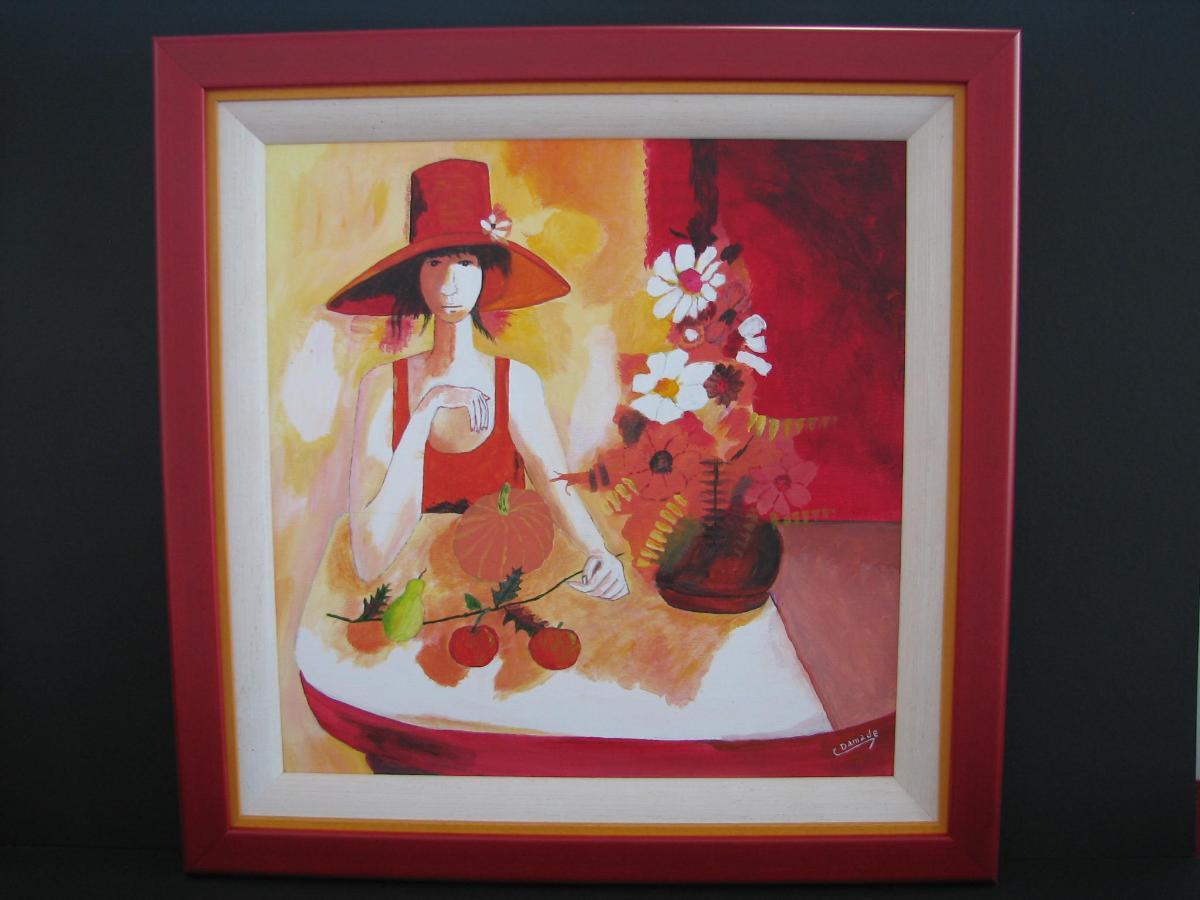 Encadrement Peinture huile