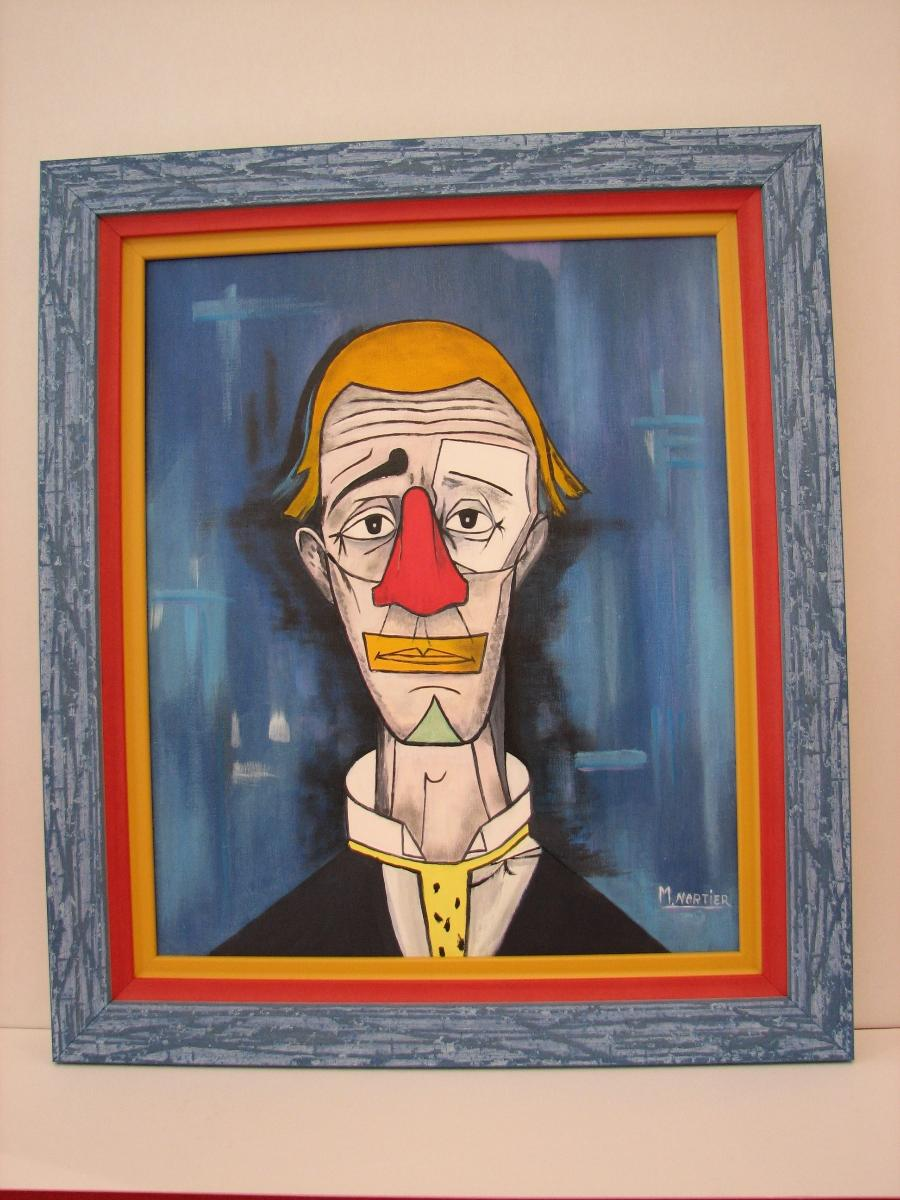 Reproduction Le Clown de Bernard BUFFET