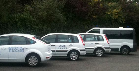 Ambulances Multiservices AMS Combs la Ville-Véhicules tous transports