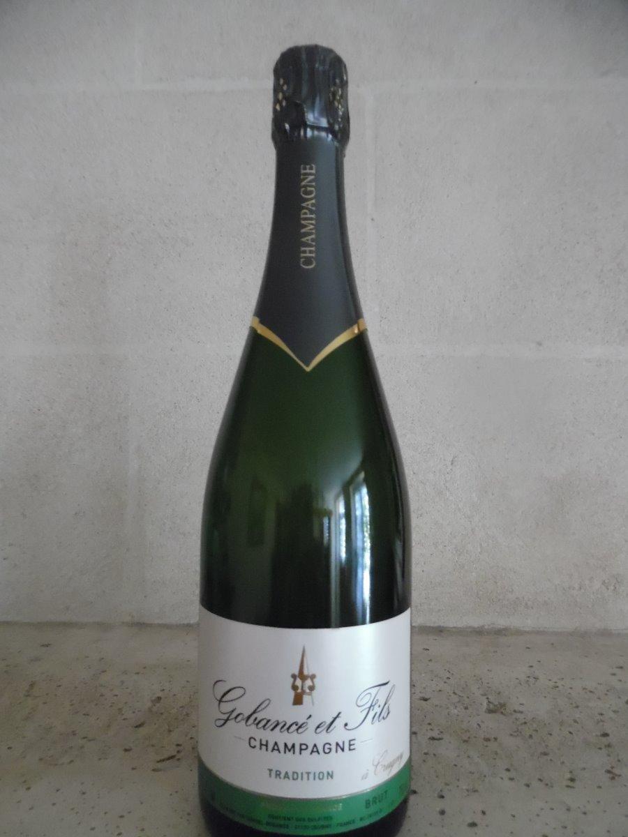 Champagne Tradition la bouteille