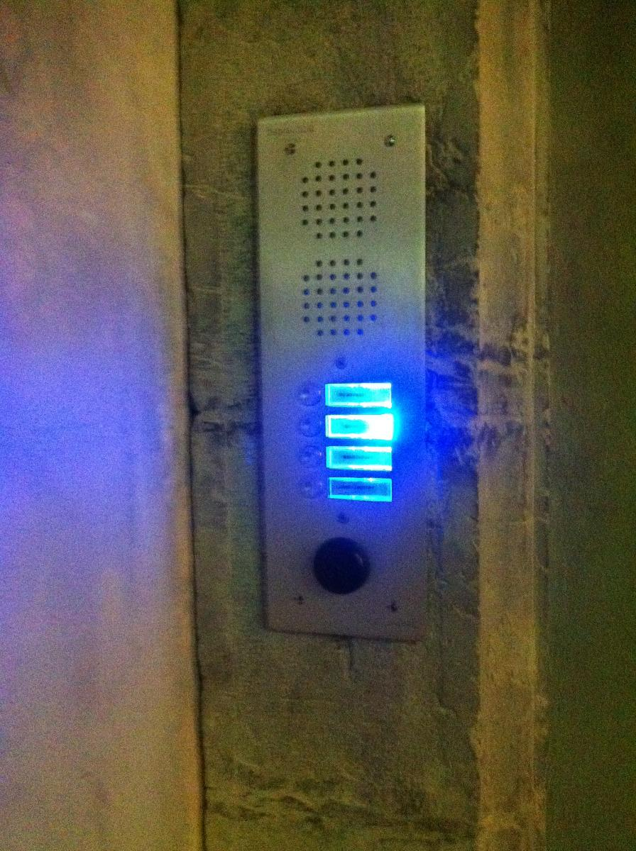 EGS Toulon - installation Interphonie