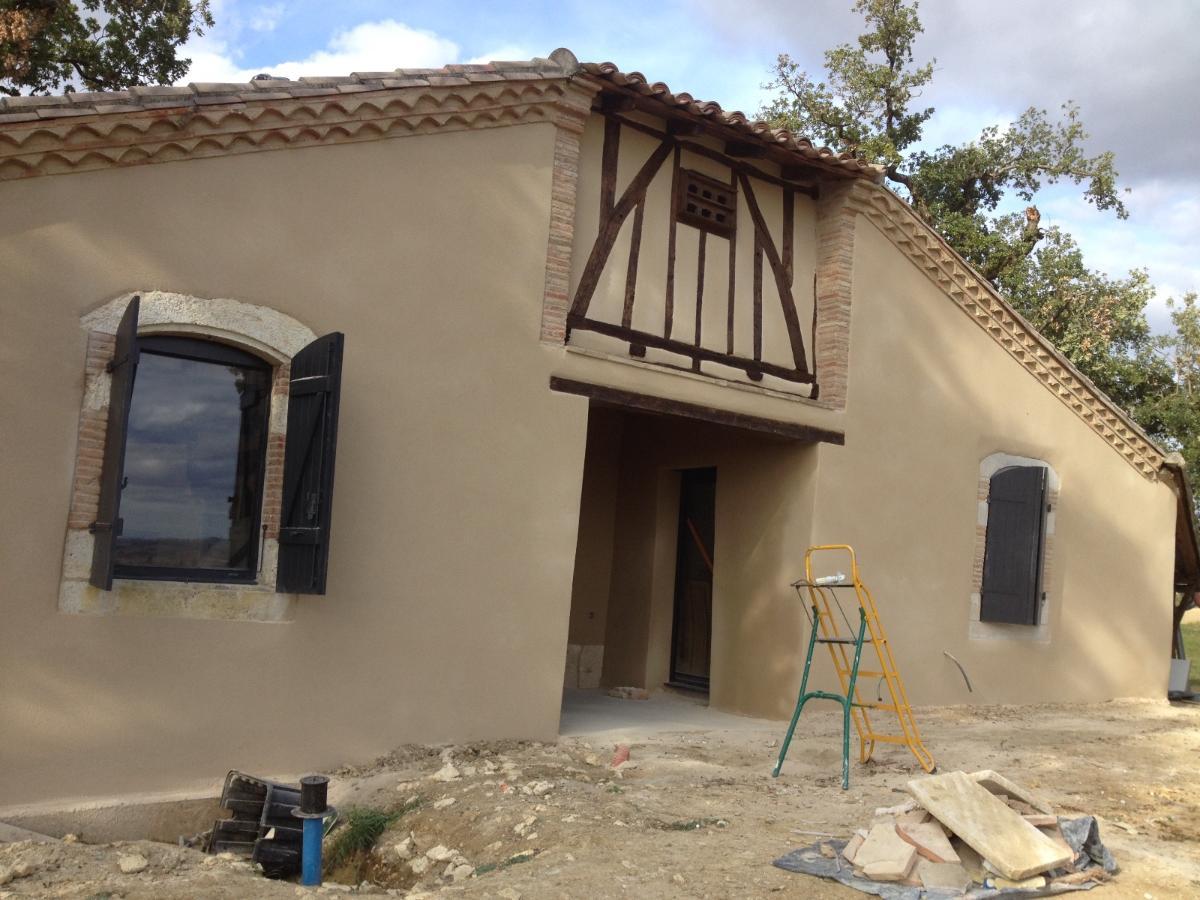 Rénovation, Lorenzo Project, crépi,  près de Montauban et Caussade Tarn et Garonne (82)