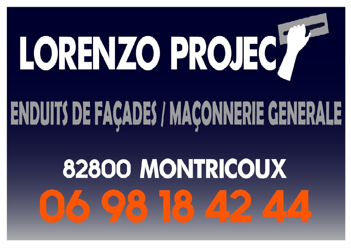 Ravalement de façades Lorenzo Project près de Montauban (82)
