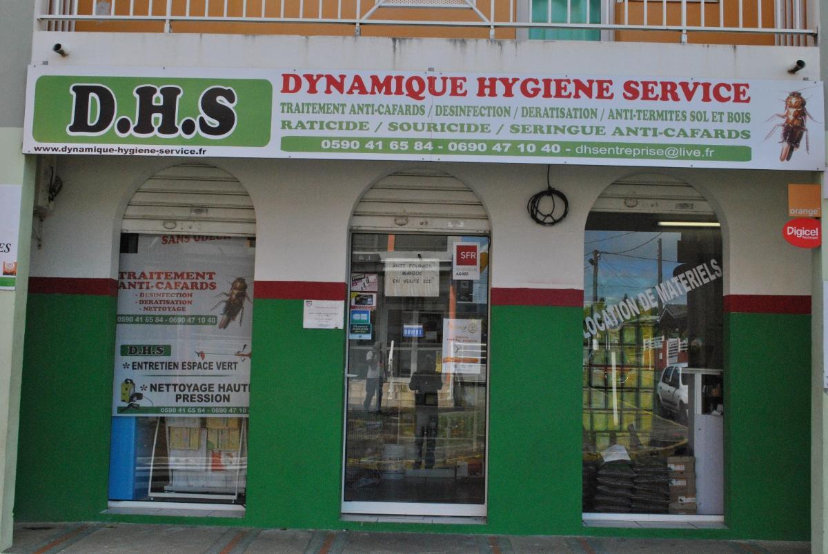 D.H.S Dynamique Hygiéne Service à Goyave, désinfection