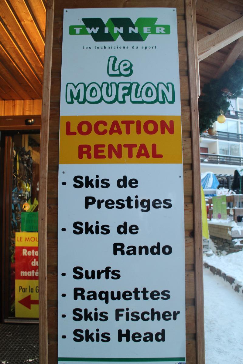 Magasin location de ski le mouflon Les monts d'olmes