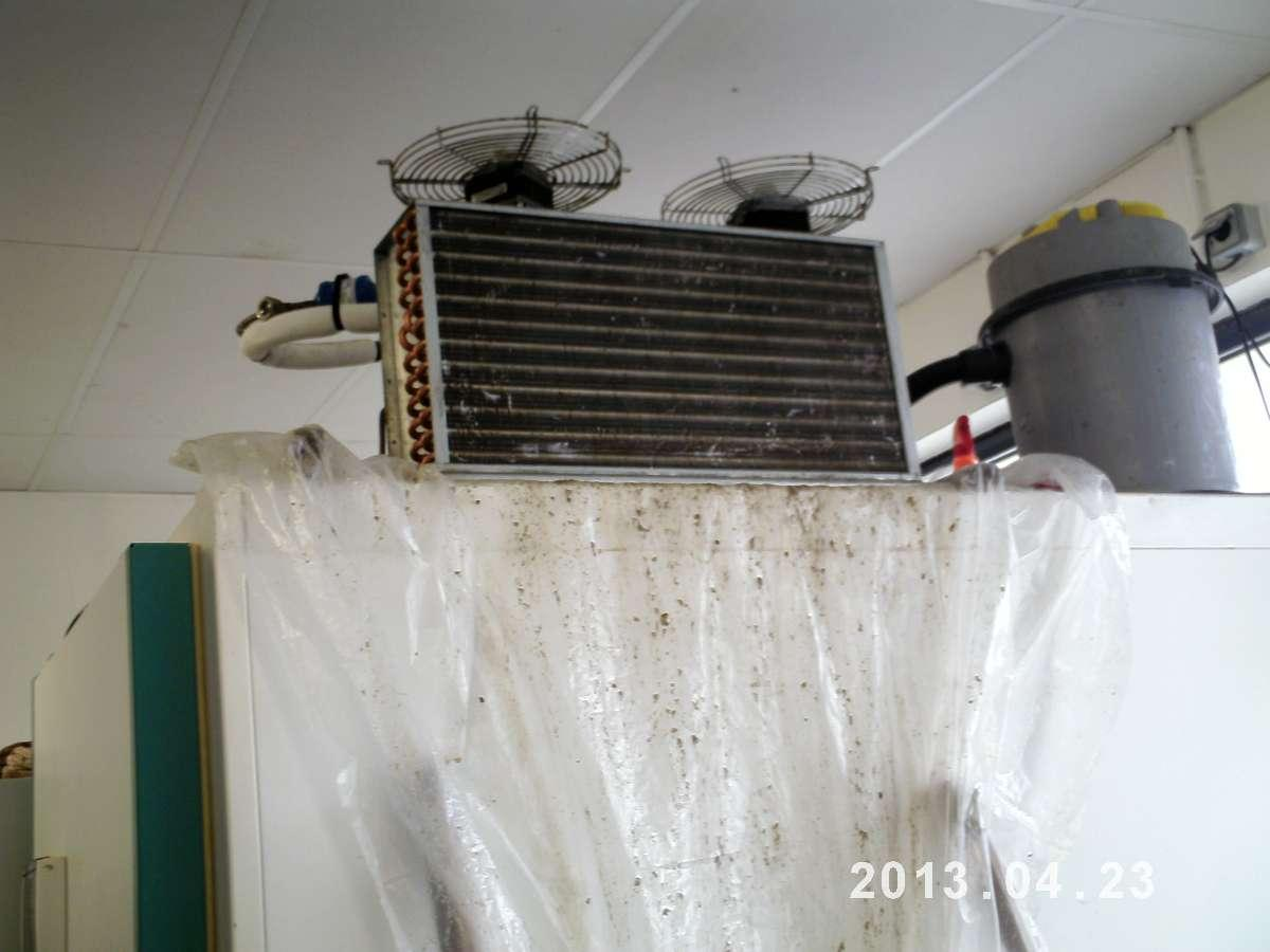 Entretien sur condenseur encrassé, FCCP à Capvern dans les Hautes-Pyrénées (65)