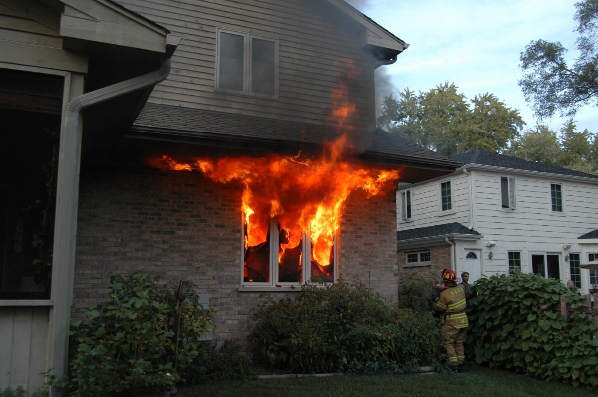 Cette maison n'est pas protégée, il faut éviter cela.