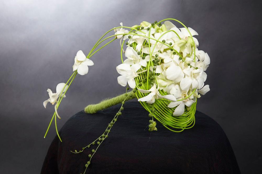 Bouquet de mariée N° 2 : 60€