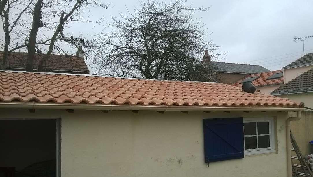 DB Couverture, petite rénovation en tuiles à Saint-Herblain