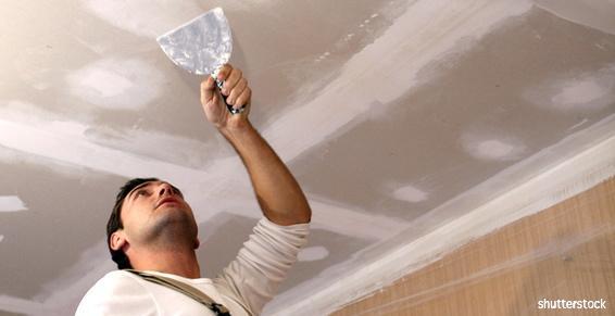 Plaquistes - Plâtrerie - Enduisage plafond