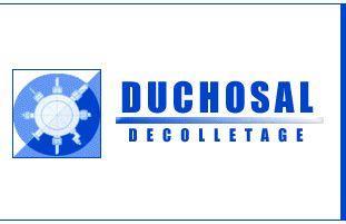 Logo Duchosal décolletage - usinage - Thyez - Haute Savoie