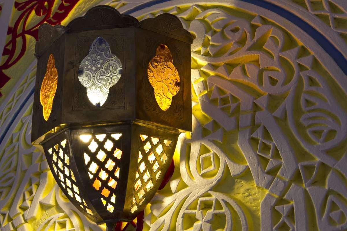 Lampe typique du maroc La Tour du Maroc Villebon-sur-Yvette Essonne