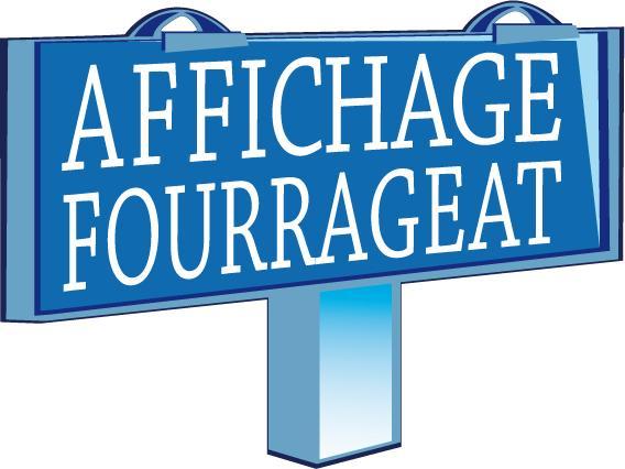 LOGO AFFICHAGE FOURRAGEAT