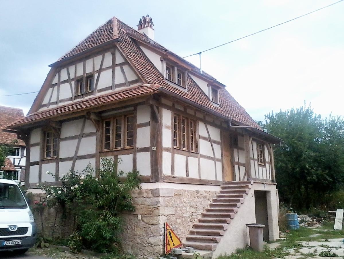 Rénovation Maison maison colombage