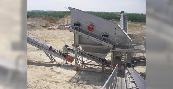 mines carrières - crible 9m², 3 étages Alpro Construction France