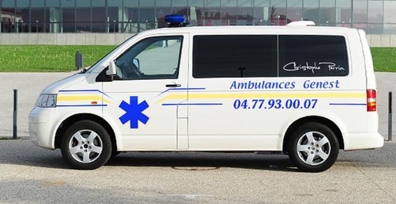 Assistance médicalisée de l'aéroport au centre hospitalier