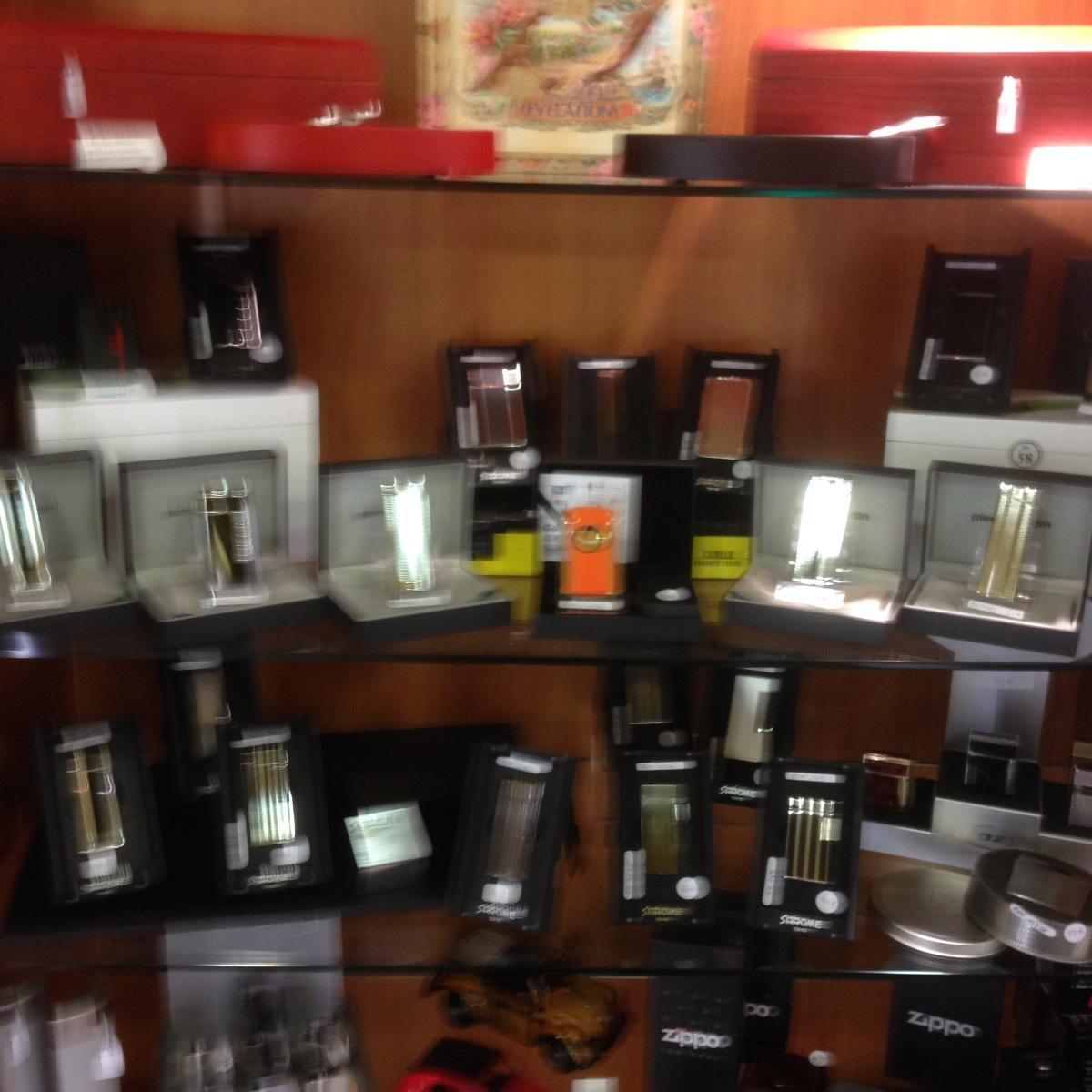 Briquets à la boutique du fumeur à lille
