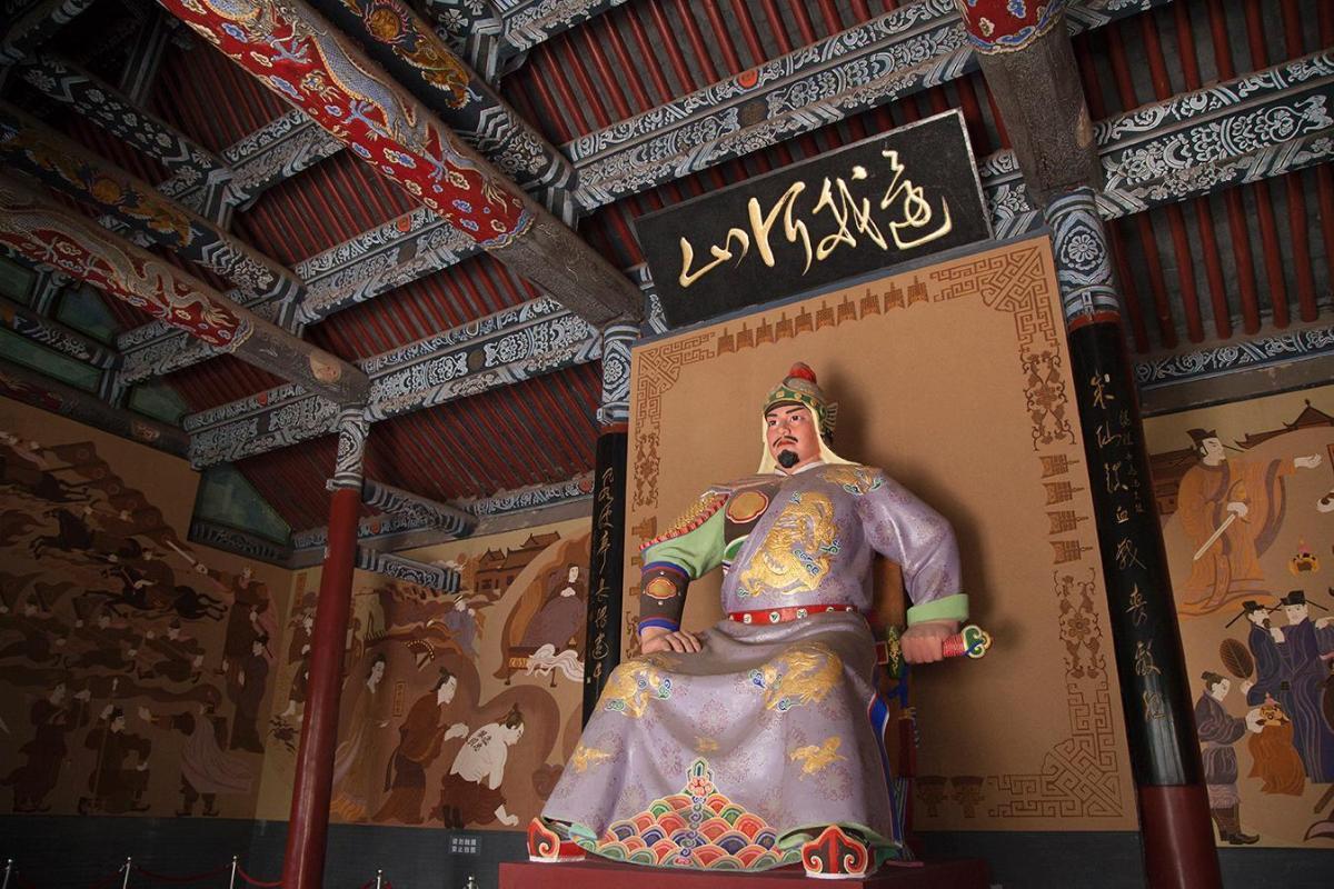 Yue Fei créateur du Qi-Gong (8 pièces de brocart)