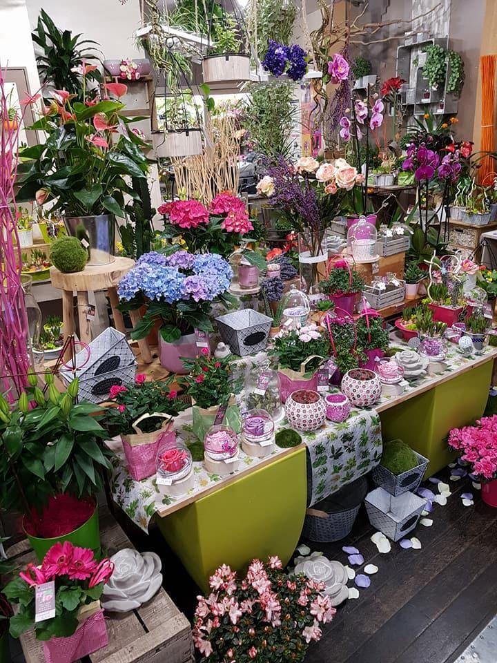 A Fleur de Pot à Melle - Couronne de fleurs
