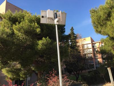 Vidéo-surveillance par panneau solaire