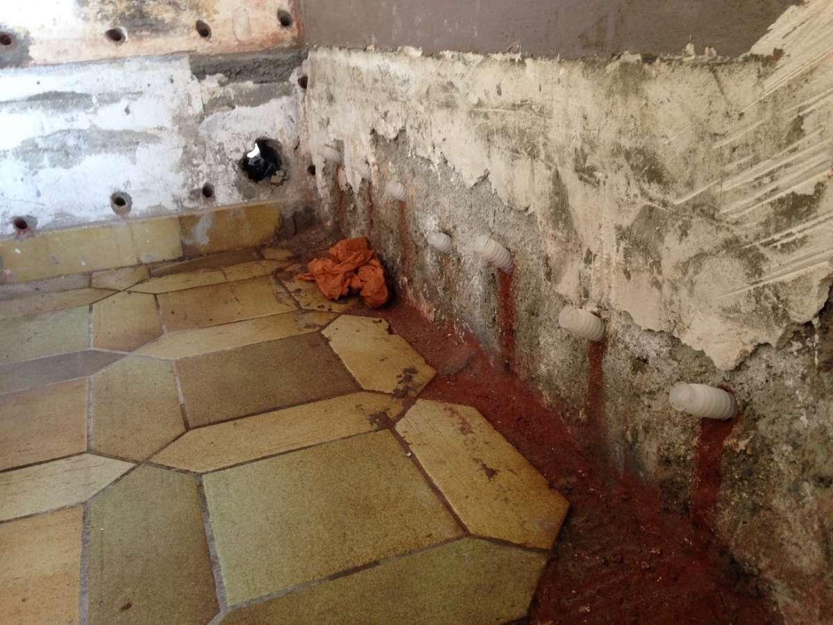 Protection des murs contre la remontée ascensionnelle