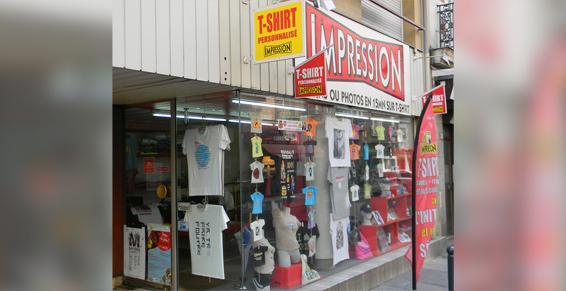 Impression boutique
