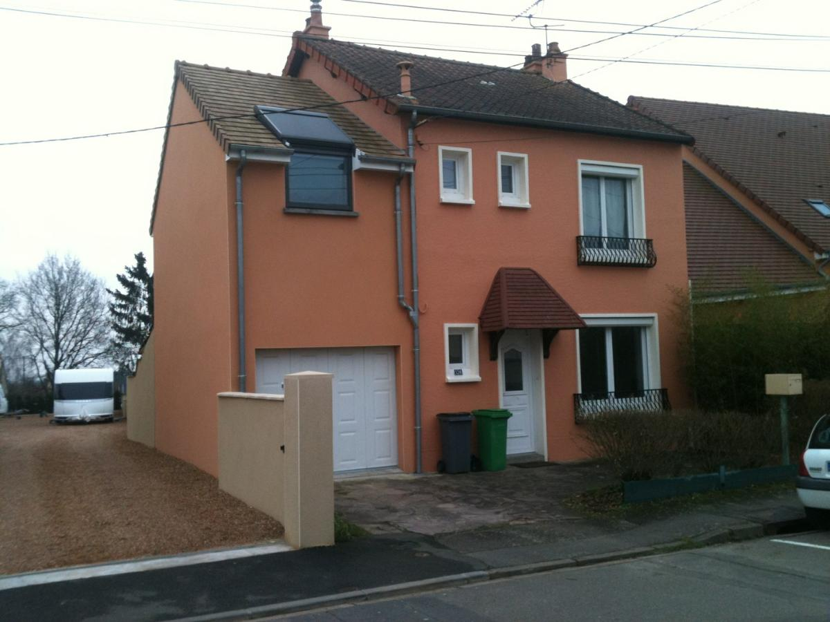 extension avec garage