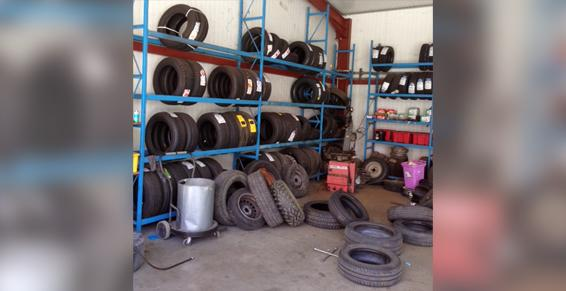 Vente de pneus - Ghislaine Calvet