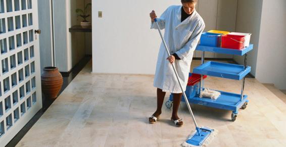 Nettoyage communs résidences.