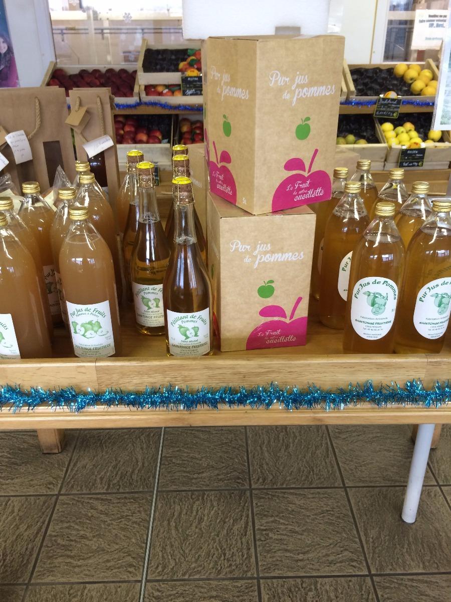 SARL Daudet Fruits à Pessines en Charente-Maritime (17), vente de pommes aux professionnels