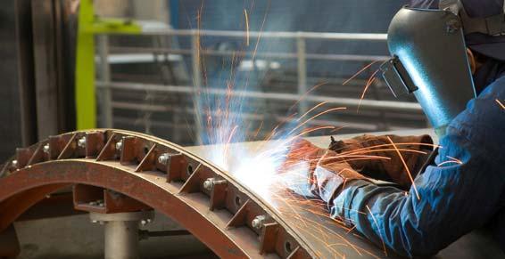 chaudronnerie industrielle - soudure en usine