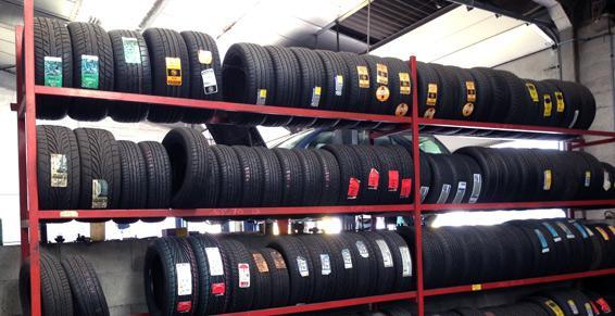 Vente et montage rapide de pneus neufs à Rennes