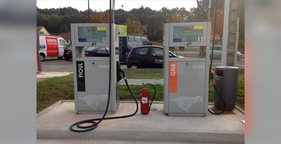 Esso - Top Garage à Arnage - Fioul combustibles