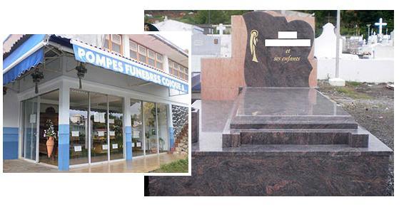 Pompes Funèbres Coique Albert funéraires tombes caveaux transport