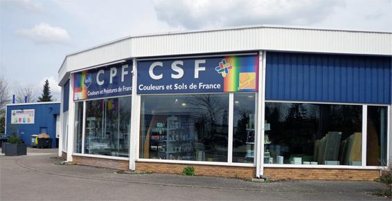 Couleurs et Peintures de France CPF à Woippy - Vue parking