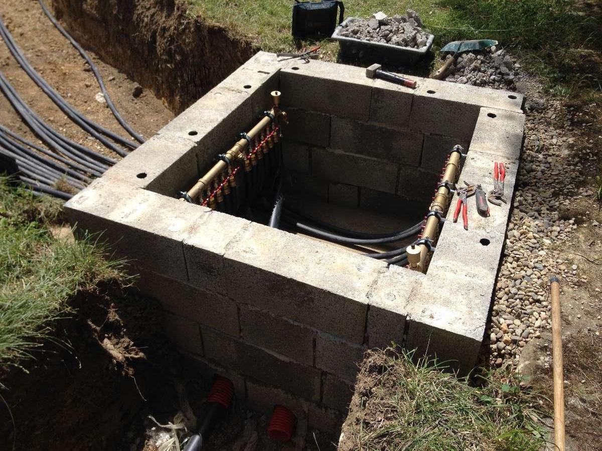 Entreprise Bégarie à Mielan (32) - Installation de géothermie