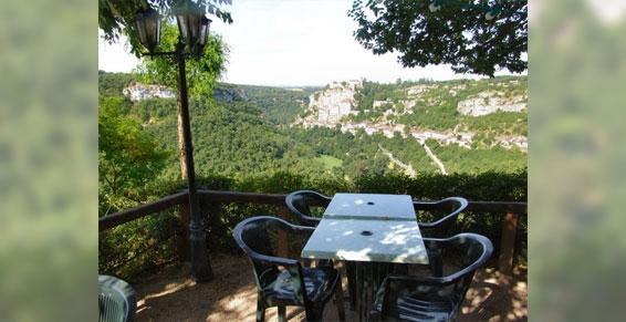Vue exceptionnelle de Rocamadour dans le Lot (46)
