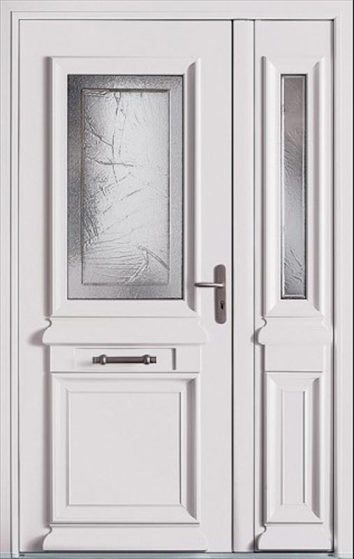 Porte d'entrée en aluminium à Niort - MÉTIS