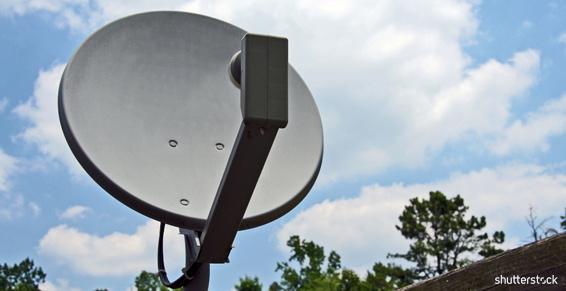 Pose d'antennes terrestres