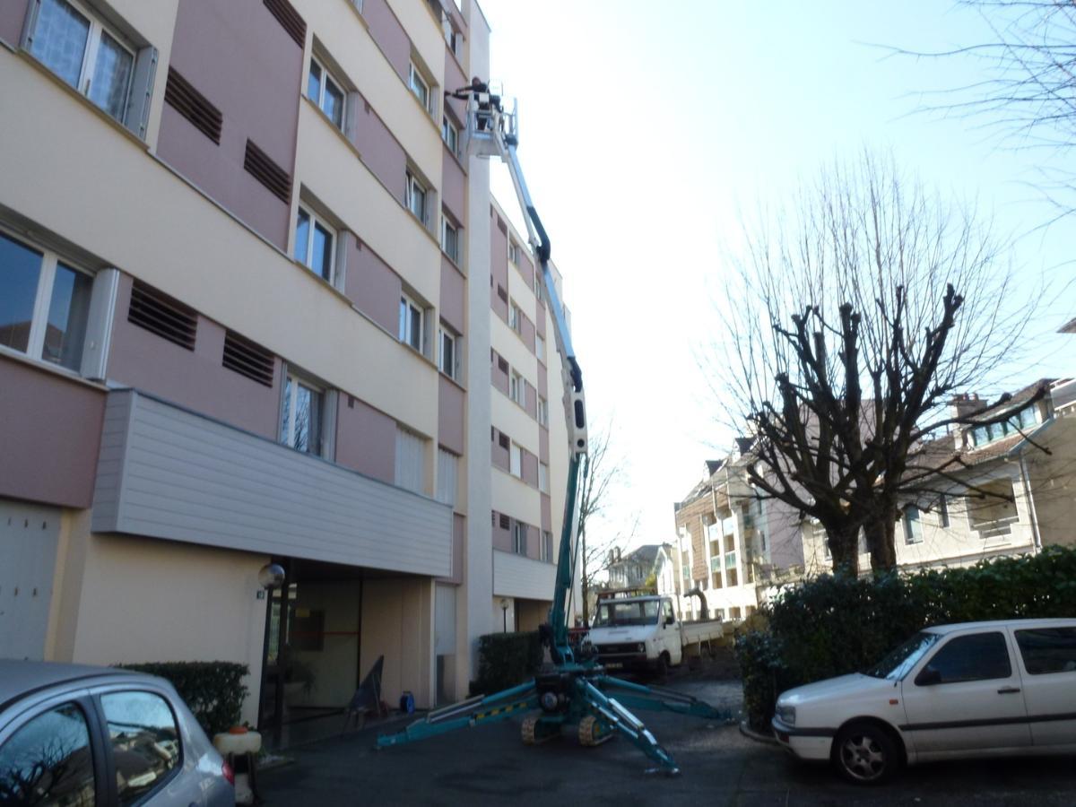 Élag Paysage 64 – Travaux en hauteur sur immeuble