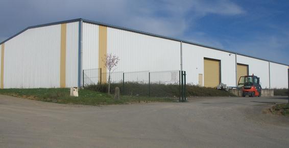France Location Industrie - Bâtiments industriel bardage toiturel