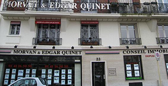 Morvan & Edgar Quinet - Courbevoie - Transaction Immobilière