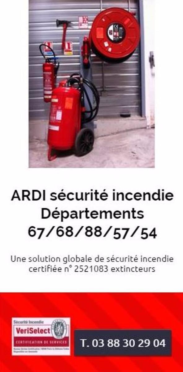 formation extincteur Ardi sécurité incendie