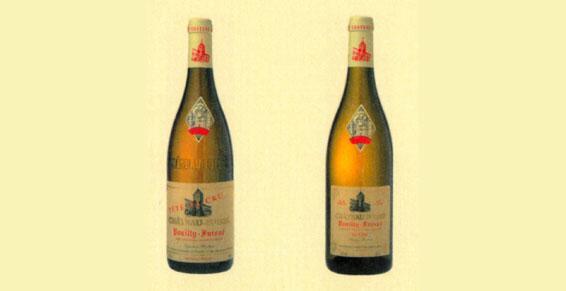 Vins d'appellation Pouilly-Fuissé