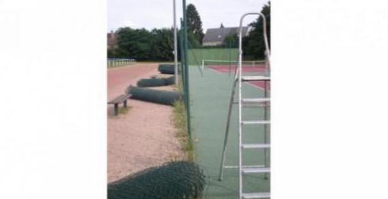 Cloture d'un terrain de tennis