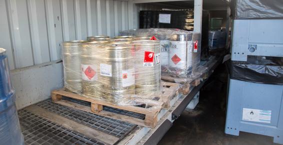 SARP Sud-Ouest: stockage et traitement rigoureux des déchets à Saintes